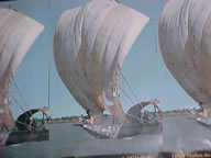 Boats sailed by Mansa Mussas uncle, Abu Bakar II to the Americas