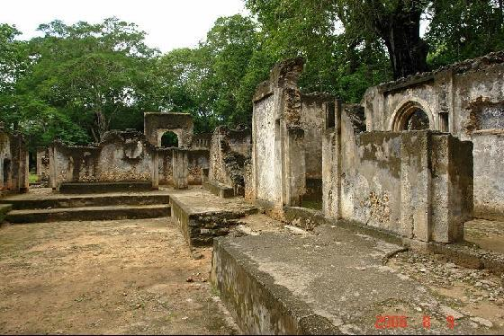 Gedi Great Mosque, Kenya