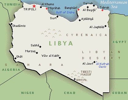 Libya  {greenwichmeantime}