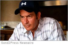 Charlie Sheen. Credit: Alex Jones Send2press
