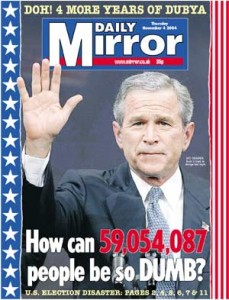 Bush re-election