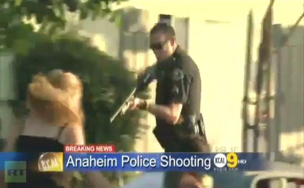 anaheim police shooting huffington post