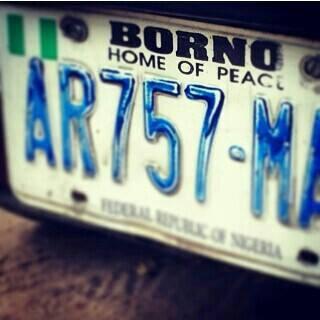 borno plate number
