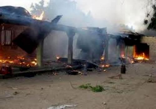 Burning-house-in-Borno