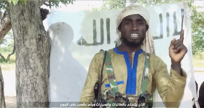 Boko Haram leader at Eid in Sambisa this September